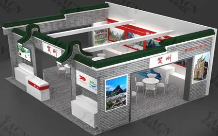 贺州旅游展展览设计搭建